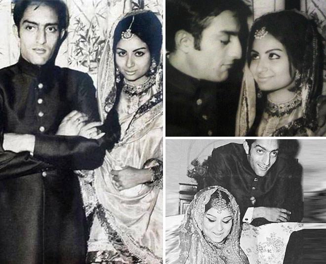 sharmila tagore nawab pataudi wedding pictures m