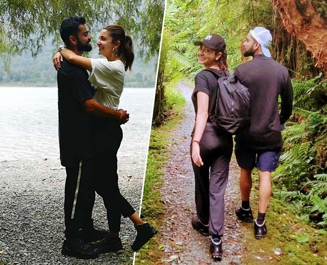 Anushka Sharma and virat kohli romantic holiday in new Zealand