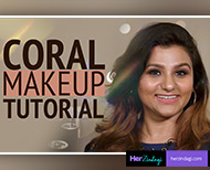 Coral makeup tutorial take tips from expert ruchika bhatia