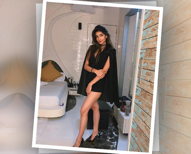 actress shweta tiwari daughter palak hot black look main new