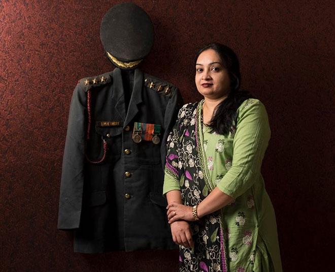 army personnel martyrs wife main