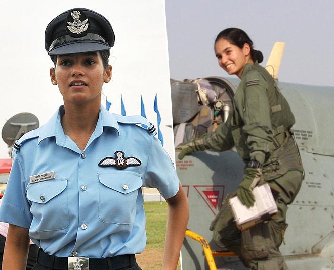 avani chaturvedi first female  fighter