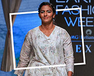 geeta phogat lakme fashion week