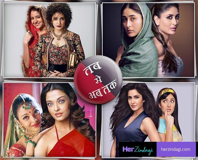how bollywood actresses looks changed over the decades main new