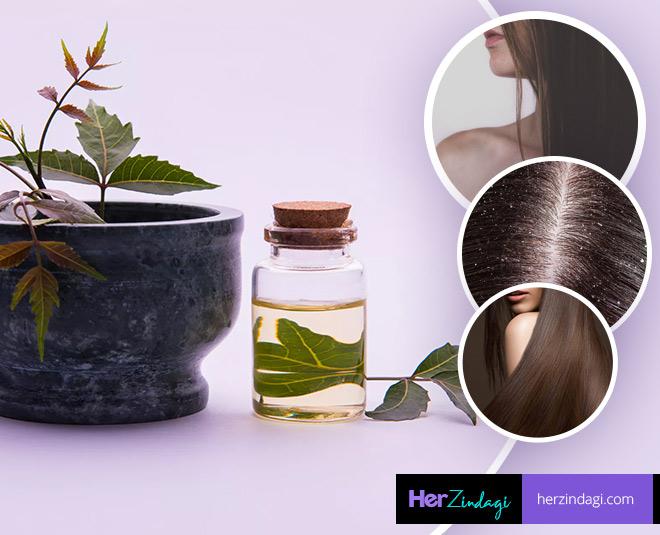 neem oil for hair problems