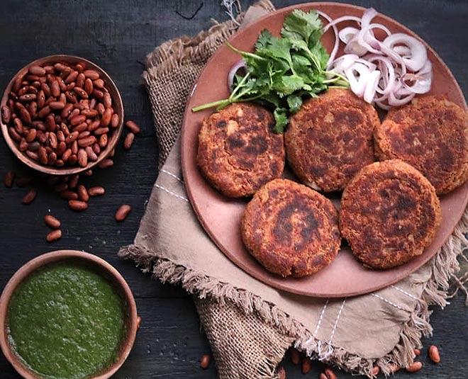 rajma Kebab homemade easy recipe