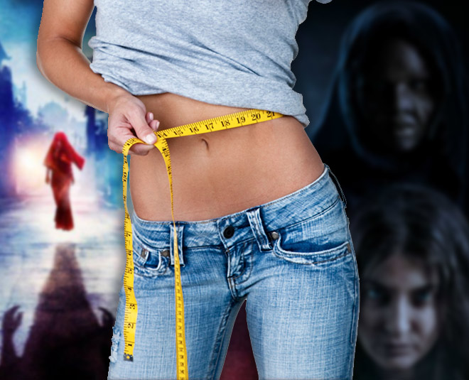 weight loss with horror movie main
