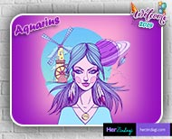 Aquarius horoscope  women gets their partners support