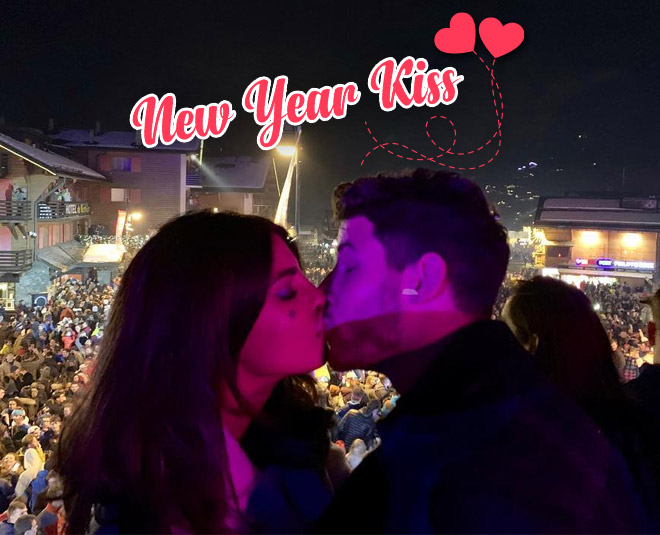 Priyanka chopra and nick jonas new kiss viral video