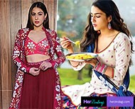 Sara ali khan diet plan help you to reduce your weight