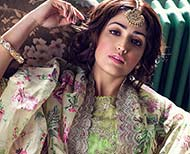 bollywood actress yami gautam pastel colour lehenga look thumb
