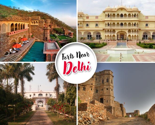 forts located near delhi