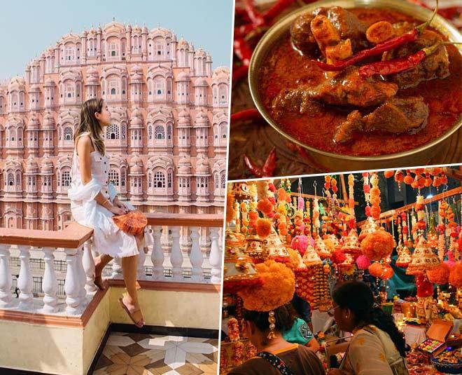 jaipur literature festival  best places shopping  food