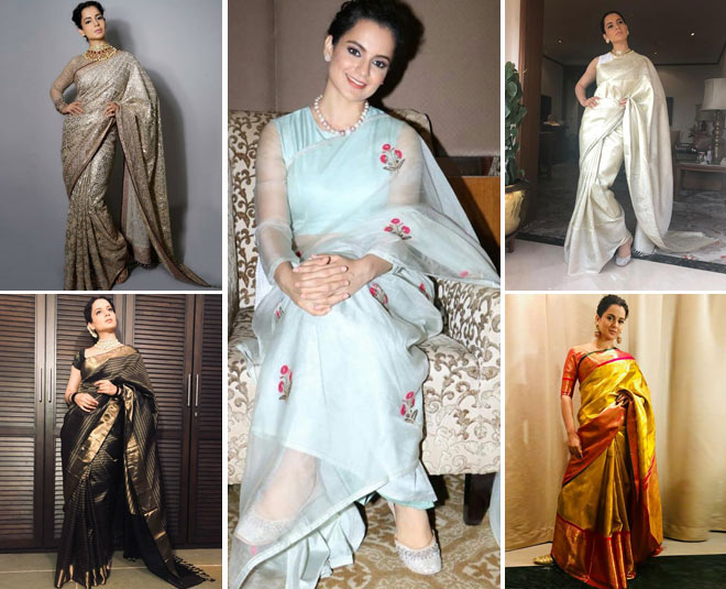 kangana ranaut most stylish saree look which inspire every woman main