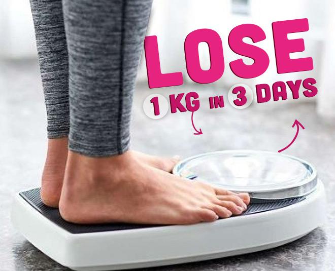 lose weight in three days main