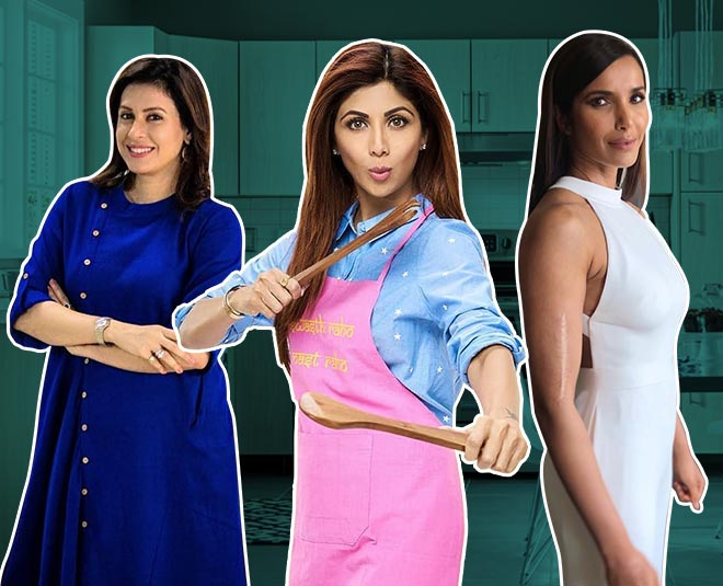 shilpa shetty asha bhonsle amrita raichand padma laxmi celebs inspired healthy cooking article