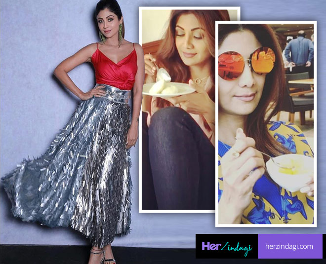 shilpa shetty breakfast for weight loss