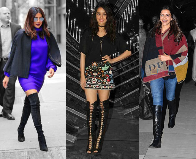 351d4edb1cf Team Up Your Winter Boots With Right Outfits Like These Celebs