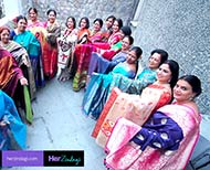 women promotes handloom saree on social media six yards and  days thumb