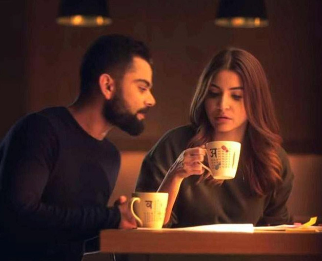 Anushka Sharma with virat kohli in London
