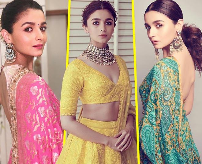 alia bhatt latest blouse design