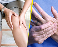 arthritis pain yoga thumb