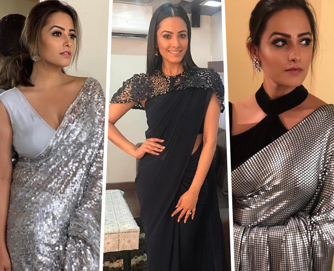 Steal These Blouse Designs From Anita Hassanandani S Closet And Give Your Saree A New Twist
