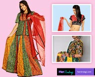 choli designs for attractive look thumb