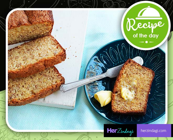 eggless banana cake for kids