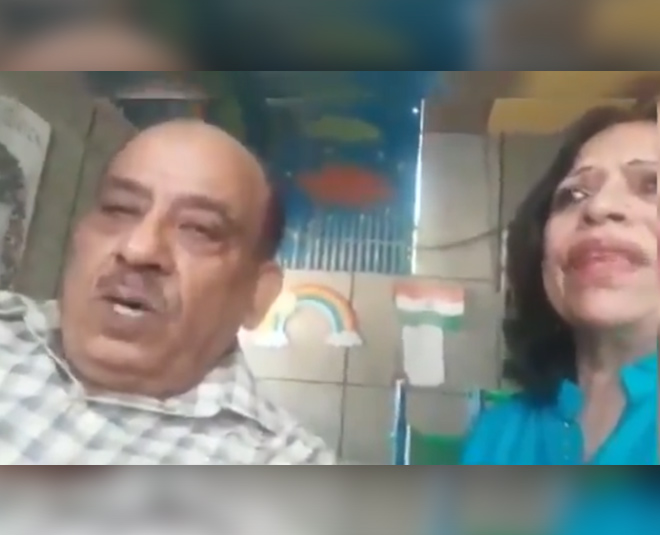 elderly couple viral video from ghaziabad allege torture by son main