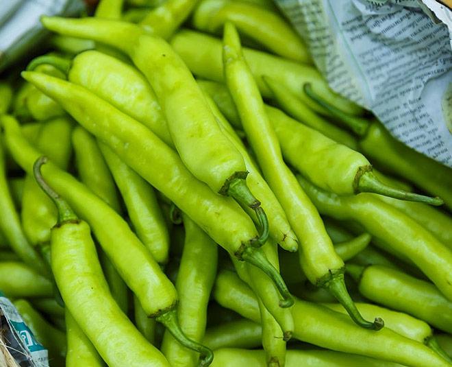 green chilli for health