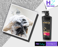 hair cleaning with shampoo thumb