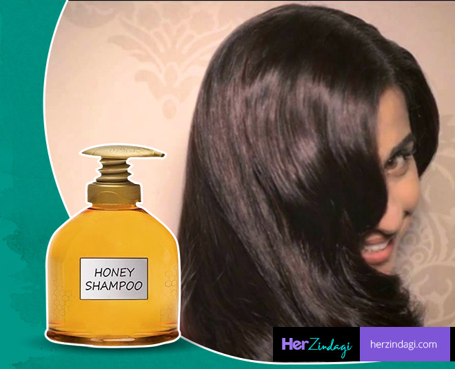 honey shampoo hair care main