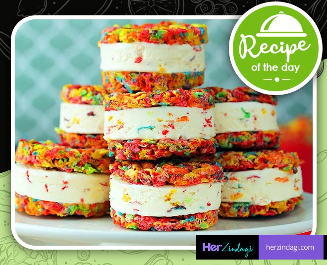 how to cook rainbow ice cream sandwich main