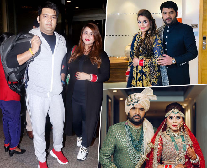 kapil sharma spotted at airport with wife while going for babymoon main