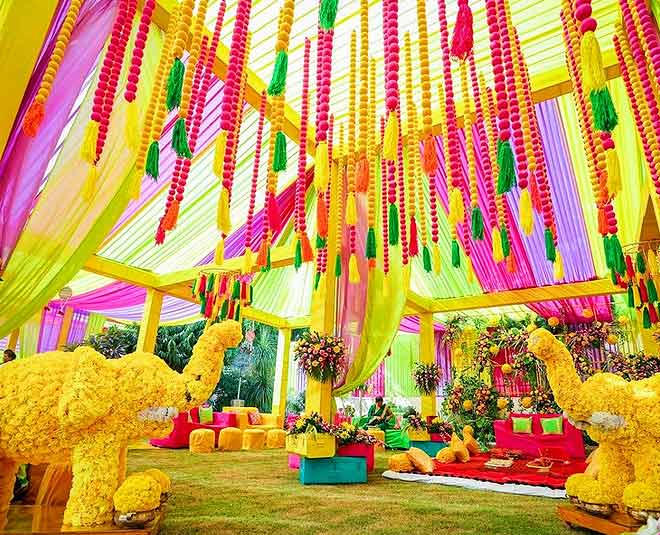 main mehndi function decor ideas