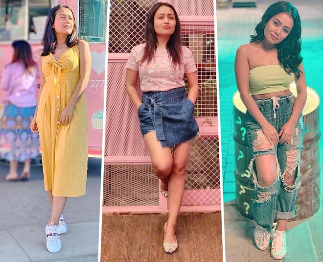 neha kakkar sorry song video viral and she looks glamorous in this video main