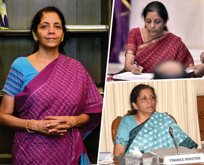 nirmala sitharaman saree looks main