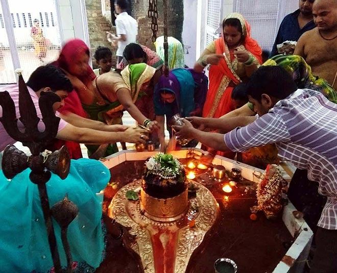 shiva linga abhishekam at home