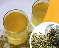 thumb weight loss with fennel water