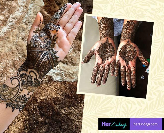Bollywood Style Mehendi Designs