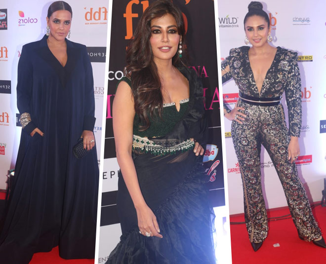 celebrities walk miss india  red carpet