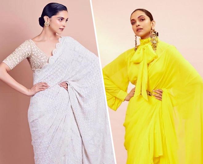 9 Trendy Deepika Padukone Blouse Designs, Key Hole Back To ...