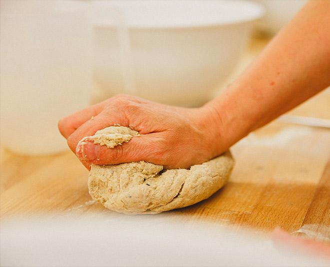 food flour dough for excess salt