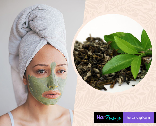 green tea face pack main