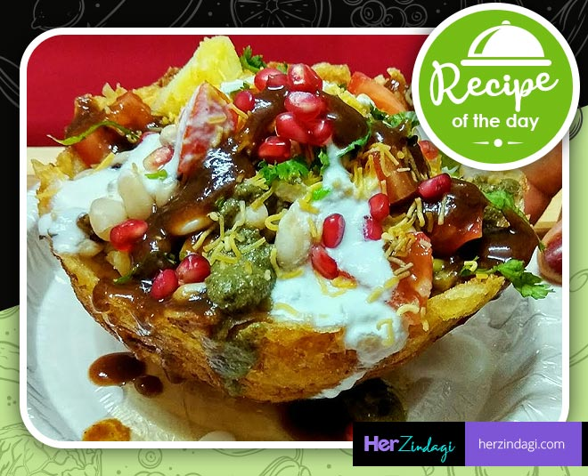 how to cook indian street food lachha aloo chaat recipes main