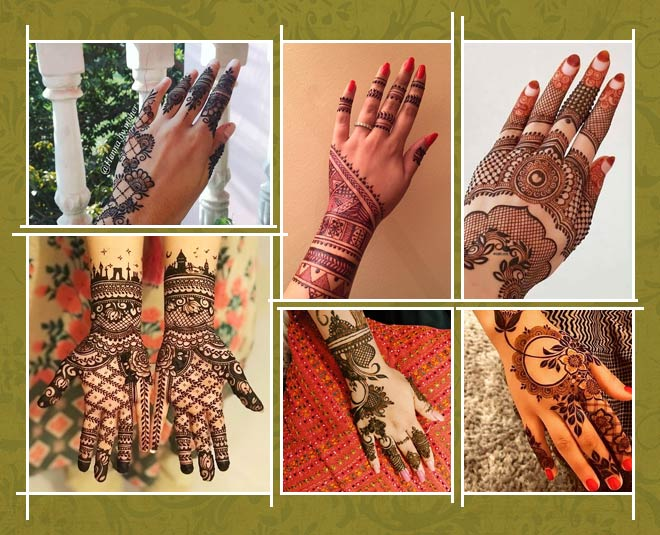 Eid Special Pick The Latest Backhand Mehndi Designs from