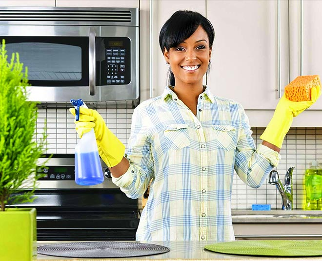 main kitchen cleaning tips