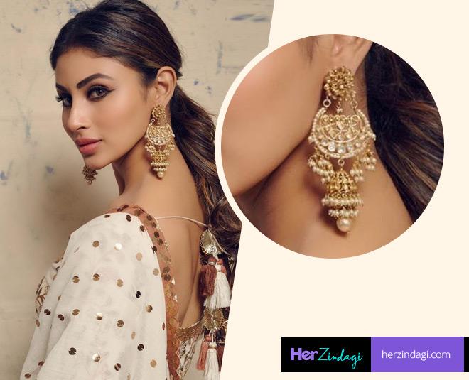mouni roy earring fashion  latest  designs