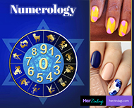 nail art numerology thumb